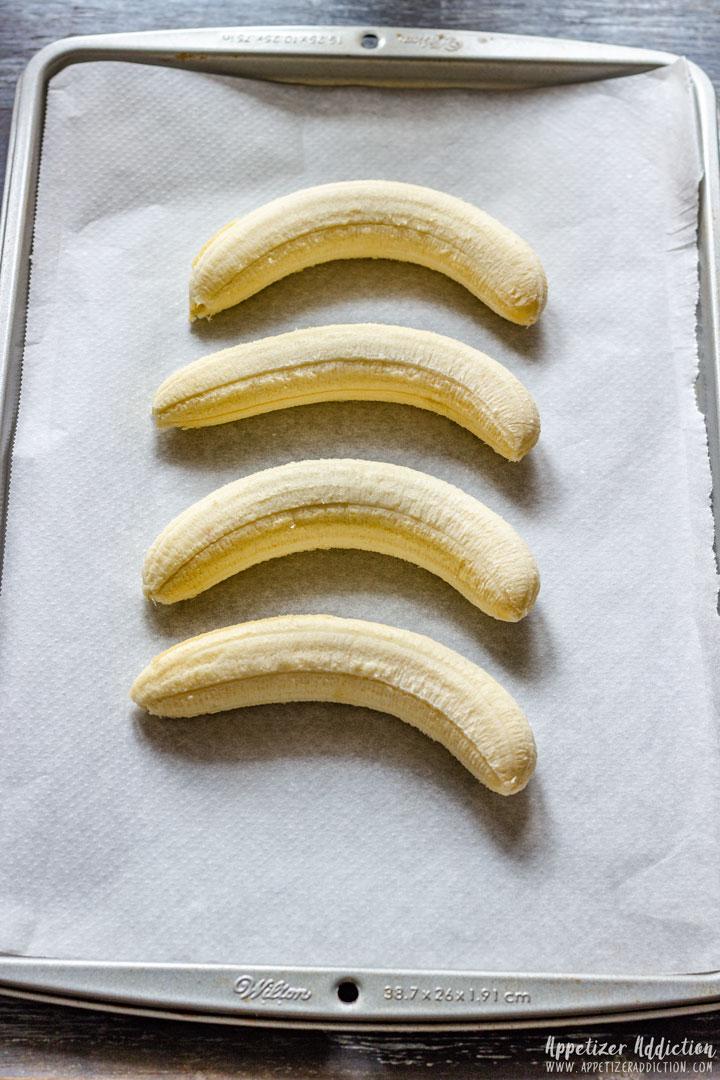 Peeled Bananas