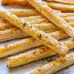 Parmesan Puff Pastry Breadsticks Pin