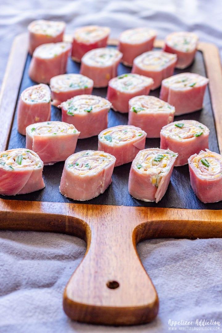 Cheese Ham Roll Ups