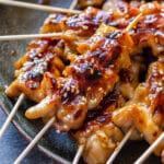 Teriyaki Chicken Skewers Pin