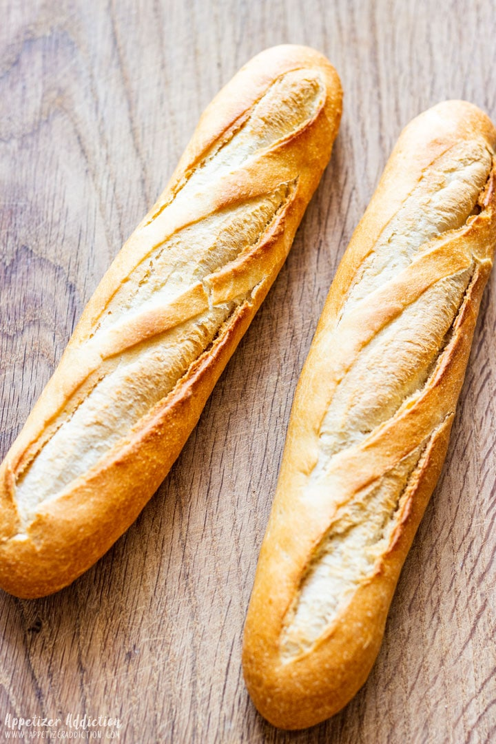 Baguette for making Crostini