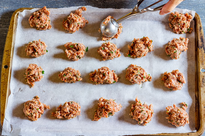 How to make cranberry meatballs step 2