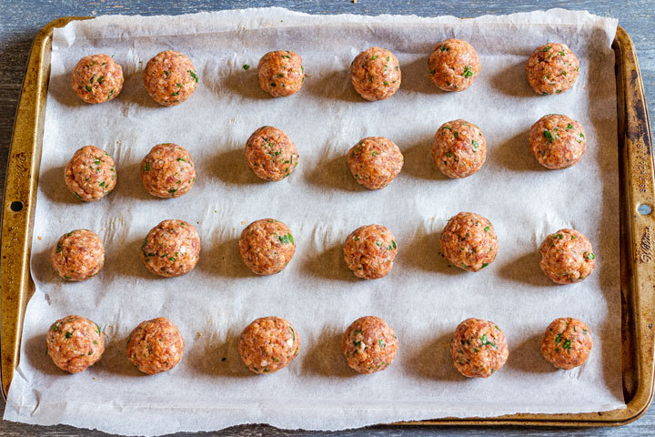 How to make cranberry meatballs step 3