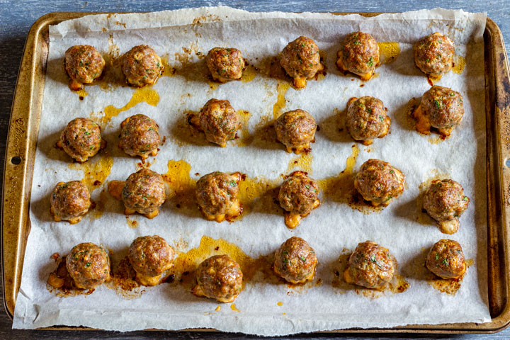 How to make cranberry meatballs step 4