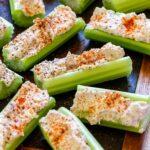 Stuffed celery pin